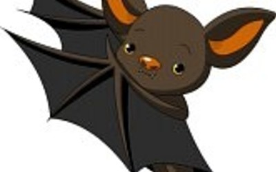 Medium 7879531 cute cartoon halloween bat presenting with his wings